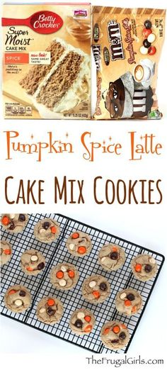 Pumpkin Spice Latte Cookies Recipe! ~ from TheFrugalGirls.com ~ if you happen to need another excuse to enjoy the flavors of your favorite drink, you'll LOVE this Easy Cake Mix Cookie Recipe! Just 4 ingredients!! #recipes #pumpkinspicelatte #thefrugalgirls