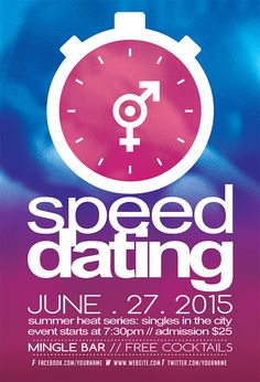 Speed dating suggestions