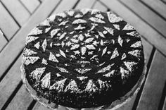 Chocolate Almond Snow Day Cake | Nothing in the House