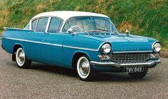 1959 Vauxhall PA Velox - reminds me of a Kaiser...