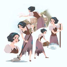 Little Dove, an art print by Jane Pica Arte Disney, Disney Magic, Disney Art, Disney Movies, Disney Stuff, Disney Characters, Princess Drawings, Princess Art, Disney And Dreamworks