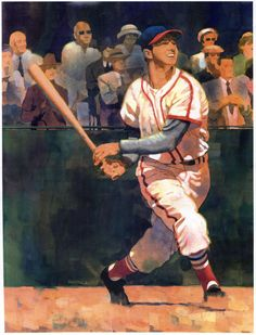 Stan Musial, St. Louis Cardinals by Jeff Suntala.