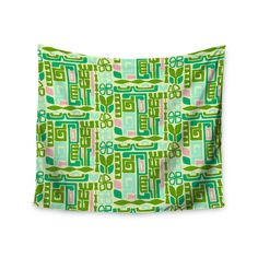 """East Urban Home Maze by Amy Reber Wall Tapestry Size: 50"""" H x 60"""" W"""