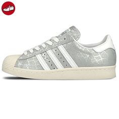 Adidas Sneaker Women SUPERSTAR 80S S76415 Silber, Schuhgröße:38 - Adidas sneaker (*Partner-Link)