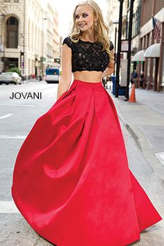 Two-Piece Ballgown 26022