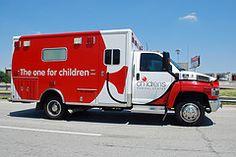 A current Childrens' Medical Center, Dallas, ambulance.