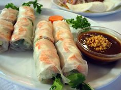 Summer rolls, my most favorite food in the world...