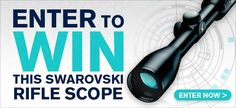 Now through Feb. 8, 2017, enter for a chance to win a $1,000 rifle scope from Swarovski and Deer & Deer Hunting. It's free to enter and free to win. Good luck!