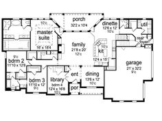House plans with safe rooms House plan
