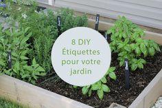 [DIY] 8 étiquettes jardin pour identifier vos plantes et légumes