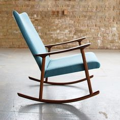 If only this Jason Lewis Furniture RC01 Upholstered Rocker was in my price range.