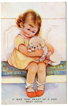 MABEL LUCIE ATTWELL  postcard via eBay