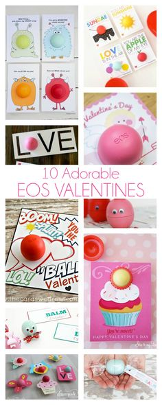 10 Adorable DIY EOS Valentine Ideas | dawnnicoledesigns.com