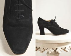 Vintage velvet suede 90s ankle by StoreyThreads on Etsy, $62.00