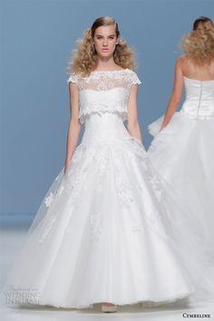cymbeline 2015 wedding dress cap sleeve lace top