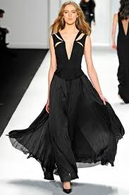 black long