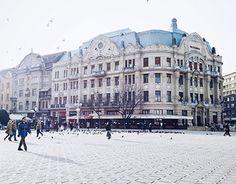 Timisoara Romania, Louvre, Street View, Gallery, Type 3, Building, Theater, Behance, Amp