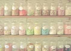 Food photograph Pastel candy colours kitchen art by LolasRoom