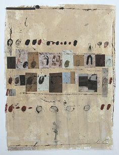 """Don't Get Fooled"" Scott Bergey  12 x 9 , mixed media collage/painting on paper. March 2014"