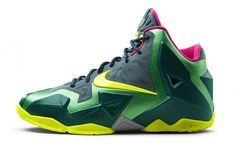 "Nike LeBron 11 GS ""T-Rex"" Release Date"