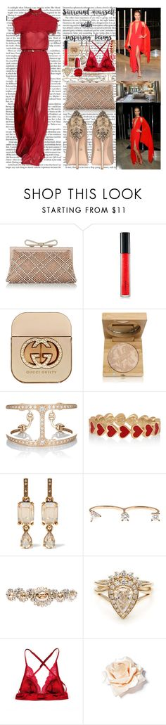 """""""I just love the times when I'm beside ya Holding me down cause you're my rider I look in your eyes and I get higher There's nothing in this world I hold tighter Without you I feel uneven  Make every day our love season Baby girl you know you're my rider"""" by labelsoflove ❤ liked on Polyvore featuring Valentino, Badgley Mischka, MAC Cosmetics, Gucci, Antonym, Hoorsenbuhs, Alison Lou, Oscar de la Renta, Delfina Delettrez and Miu Miu"""