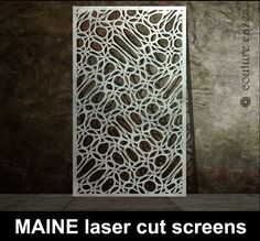 MAINE Laser cut metal panel – laser cut screens for architectural .