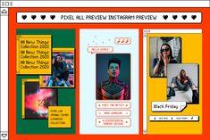 Social Media Branding, Social Media Design, Preview Instagram, Instagram Ideas, Instagram Animation, Meet The Artist, Instagram Story Template, Social Media Template, Portfolio