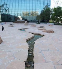 Noguchi Garden, California Scenario. Costa Mesa, CA