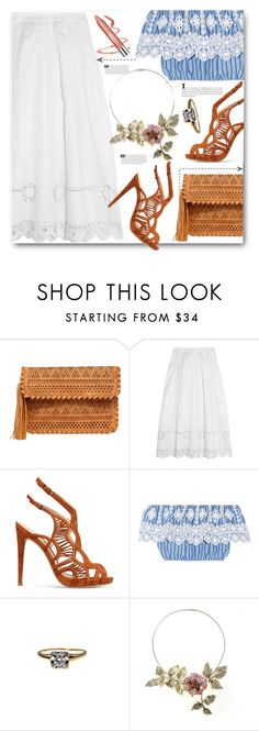 """""""Preadored#23"""" by edy321 ❤ liked on Polyvore featuring LULUS, Temperley London, Alexandre Birman, Miguelina and Neutrogena"""