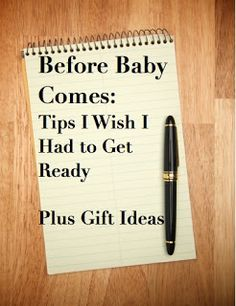 Seriously good advice/tips for before baby comes! Or what to get your friend who has one! Gonna use this!