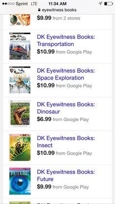 Eyewitness books