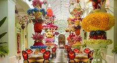 5.  Buffet at The Wynn Las Vegas!  Beautiful over the top, lavish decor plus to die for beautiful, over the top lavish food.  A match made in heaven. Abbondaza!