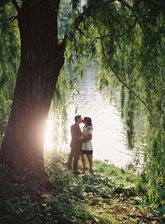 Photography: Bryce Covey Photography - brycecoveyphotography.com  Read More: http://www.stylemepretty.com/tri-state-weddings/2014/04/04/nyc-engagement-in-central-park/