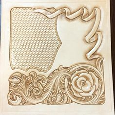 "64 Likes, 1 Comments - Mayumi  Konno (@mai19620205) on Instagram: ""#floralCaruing #leathercraft #handmade #leathergoods #rose #レザ#レザーカービ#ウォレット"""