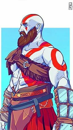 God of War Kratos Game Character, Character Concept, Character Design, God Of War Series, Kratos God Of War, War Tattoo, Playstation, Ghost Rider Marvel, Best Gaming Wallpapers