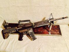 COLT AR-15 SCRAP Metal Art