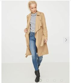 Shop instore and online for this Vero Moda trench coat. Also available in black and beige. Link in bio x Winter Cape, Pink Cadillac, Stylish Coat, Things To Buy, Daily Fashion, Outfit Of The Day, Duster Coat, Casual Outfits, Bomber Jacket