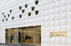- For a fashion powerhouse like Phillip Lim, its flagship store has to be something amazing. Well, the Phillip Lim flagship store in Seoul, K. Contemporary Architecture, Interior Architecture, Retail Facade, Dezeen, Love, Phillip Lim, Store Design, Interior Decorating, Around The Worlds