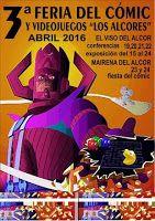 """Mamá d Gemelos: 3ª Feria del Cómic y Videojuegos """"Los Alcores"""""""