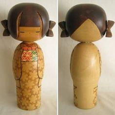 "Modern Creative Kokeshi, Kobayashi, 14-7/8"" | Kyoto Traditions"