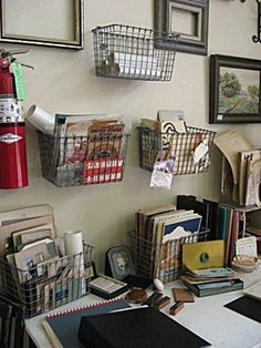 Organize Every Corner with DIY Industrial Wire Baskets
