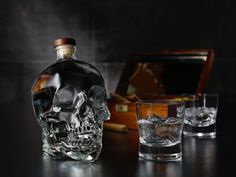 Dia de los Muertos Items to Bring Into Your Home Trick-or-treaters, costumes and scary movies are synonymous with Halloween. And while sugar skull iconography has made its way into the mainstream, the Day of the How To Make Vodka, Crystal Head Vodka, You And Tequila, Just Fresh, Bar Gifts, Skull Makeup, Bottle Packaging, Colorful Pillows, Mixed Drinks