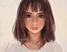 'Beige' by hiba-tan Digital Art Girl, Digital Portrait, Hiba Tan, Photoshop, Drawing People, Face Art, Amazing Art, Character Art, Cool Art