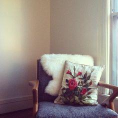 embroidery & sheepskin