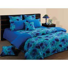Elements Oceanic Hues Double Bed Sheet Set