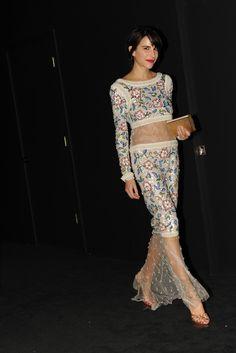 Caroline Sieber in Chanel and Chanel Fine Jewelry.