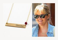 Nameplate Necklace - Personalized Gold Bar Necklace - Initial Name Necklace - Gold Fill - Monogram Birthstone Necklace - Sterling Silver. Nameplate Necklace, Gold Bar Necklace, Personalized Necklace, Name Necklace, Initial Necklace, Arrow Necklace, Small Heart, Birthstone Necklace, Stamped Jewelry