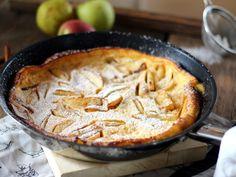 Serpenyős palacsinta karamellizált almával Apple Pie, Sweets, Cookies, Baking, Cake, Recipes, Food, Yum Yum, Kitchen