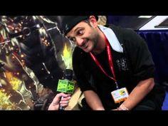 Comic-Con 2011: Entrevista Simone Bianchi no Beco dos Artistas