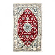 Teppich-Khorasan Nain - Rot | Home24